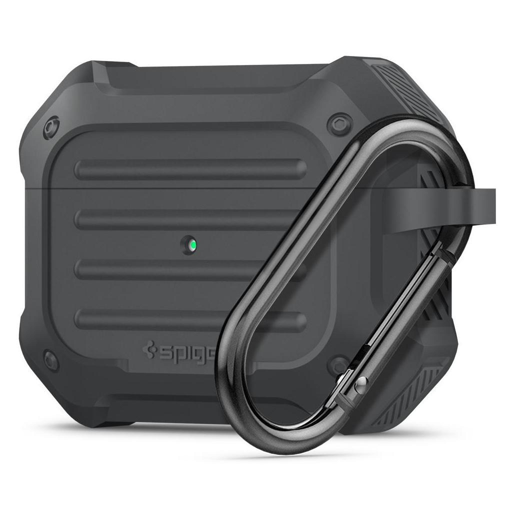 Spigen® Tough Armor™ ASD00538 Apple Airpods Pro Case - Charcoal