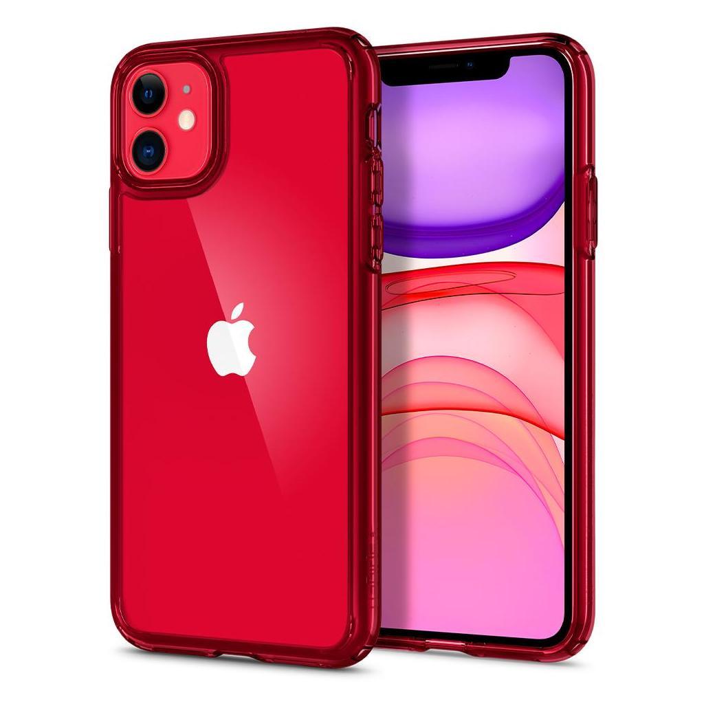 Spigen® Ultra Hybrid™ ACS00405 iPhone 11 Case - Red Crystal
