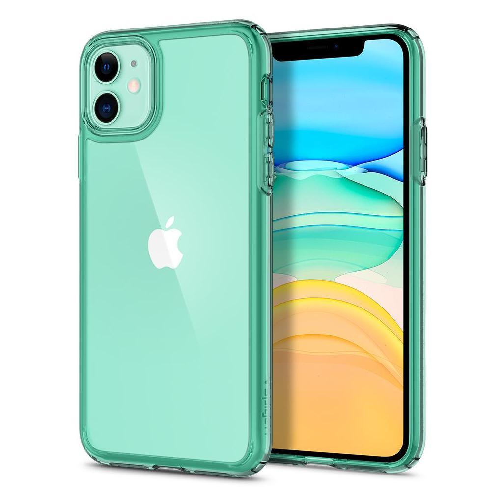 Spigen® Ultra Hybrid™ ACS00406 iPhone 11 Case - Green Crystal