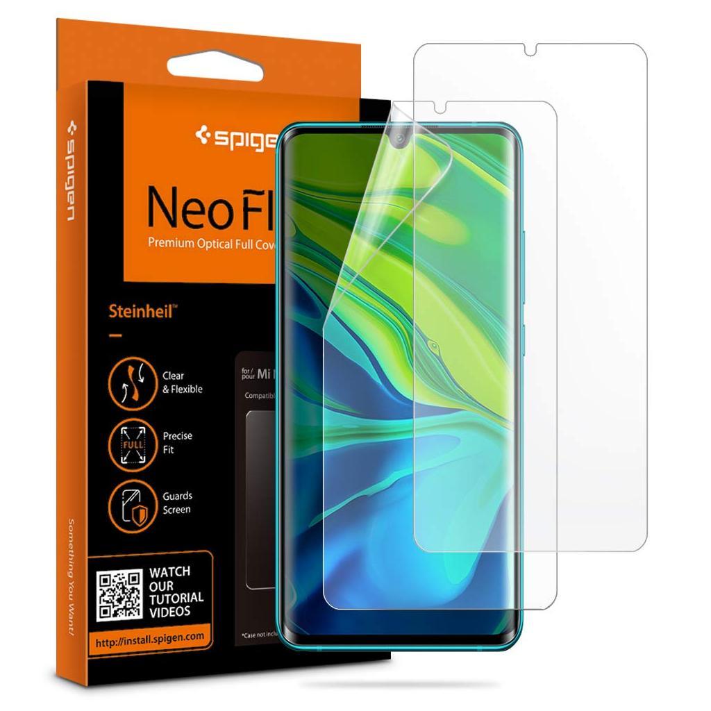 Spigen® (x2Pack) Neo Flex™ HD AFL00852 Xiaomi Mi Note 10 / Note 10 Pro Premium Screen Protector