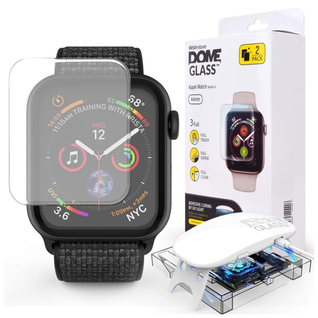 Whitestone Dome Glass™ Apple Watch Series 5 / 4 (44mm) Premium Tempered Glass Screen Protector