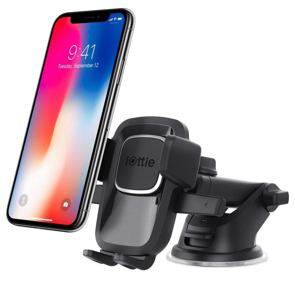 iOttie Easy One Touch 4 HLCRIO125 Dash & Windshield Car Mount - Black