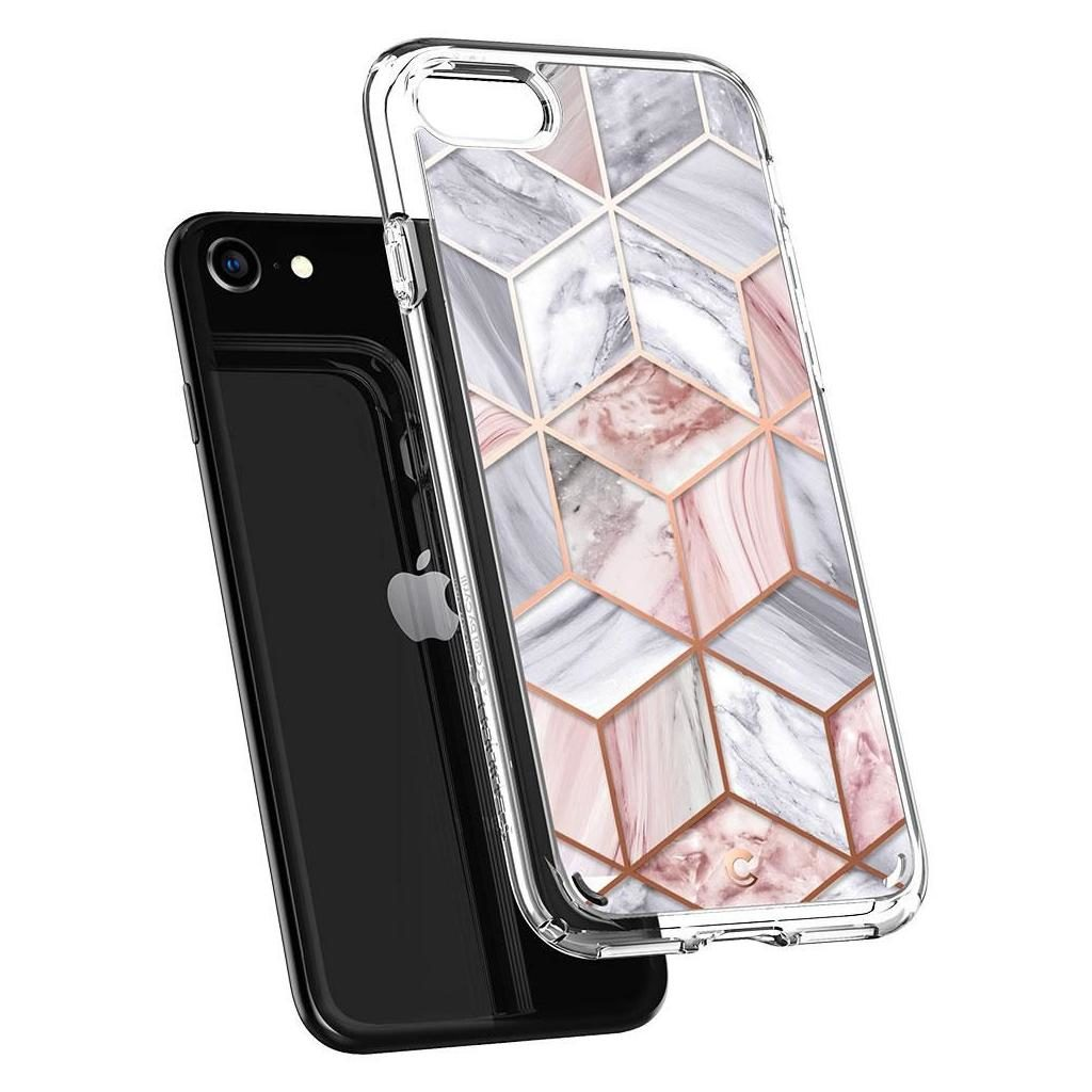 Spigen® Ciel by Cyrill Collection ACS00967 iPhone SE (2020) / 8 / 7 Case – Pink Marble