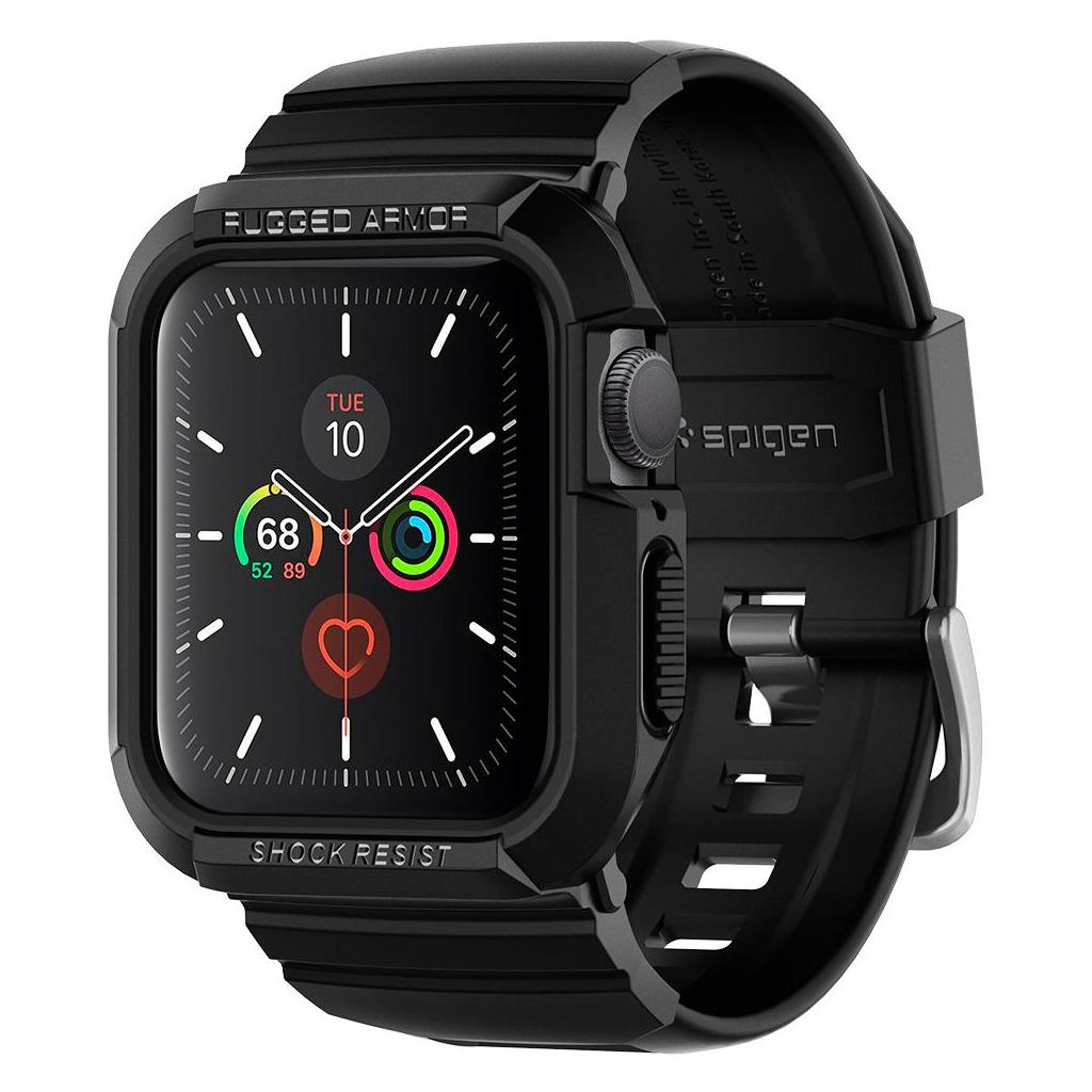 Spigen® Rugged Armor Pro™ ACS00546 Apple Watch Series 5 / 4 (40mm) Case - Black