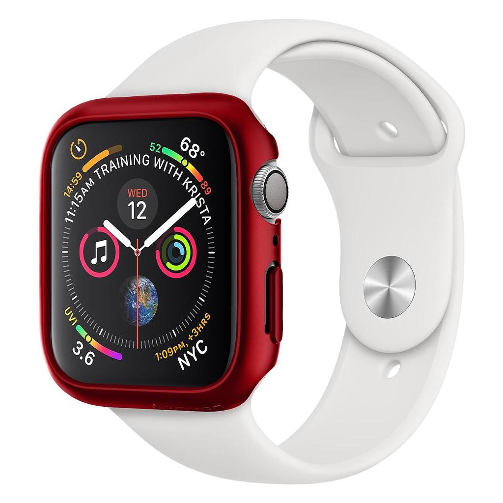 Spigen® Thin Fit™ ACS01066 Apple Watch Series 5 / 4 (44mm) Case - Red