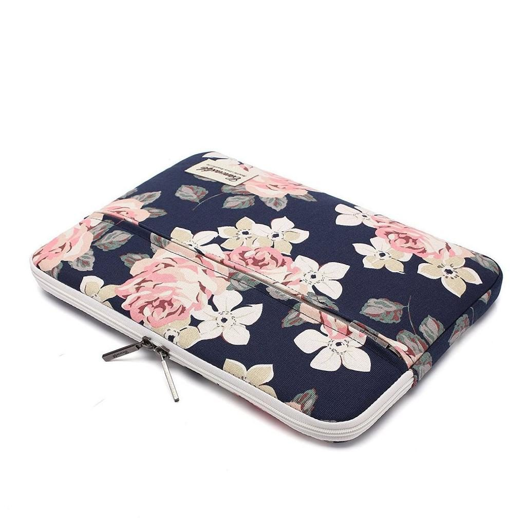 Canvaslife Laptop 14-inch / 13-inch Sleeve - Navy Rose