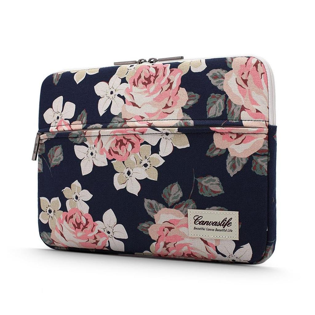 Canvaslife Laptop 16-inch / 15-inch Sleeve - Navy Rose
