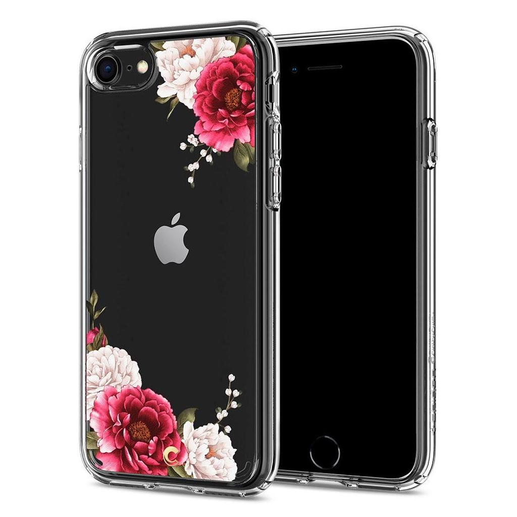 Spigen® Ciel by Cyrill Collection ACS00959 iPhone SE (2020) / 8 / 7 Case - Red Floral