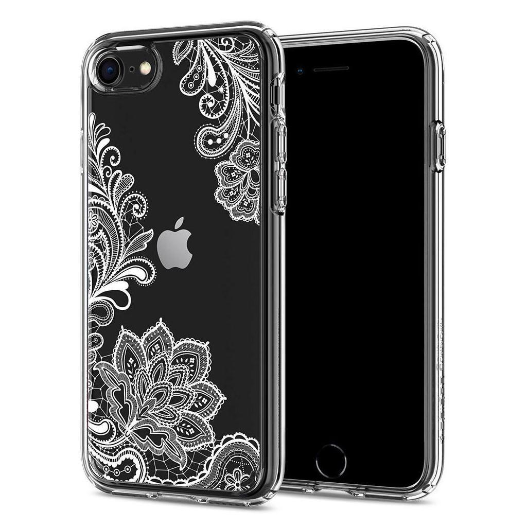 Spigen® Ciel by Cyrill Collection ACS00961 iPhone SE (2020) / 8 / 7 Case - White Mandala