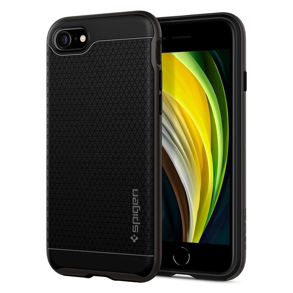 Spigen® Hybrid™ NX ACS00884 iPhone SE (2020) / 8 / 7 Case – Gunmetal