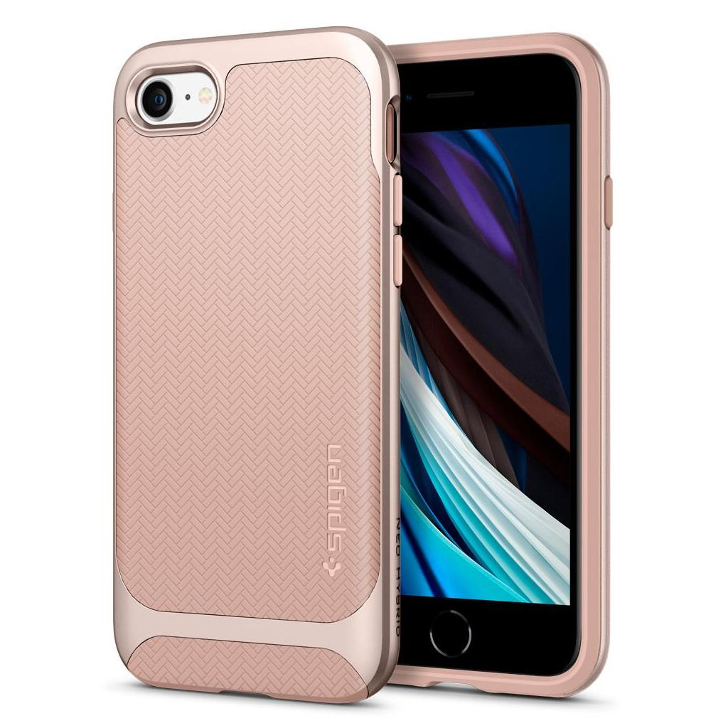 Spigen® Neo Hybrid™ Herringbone™ 054CS22202 iPhone SE (2020) / 8 / 7 Case - Pale Dogwood