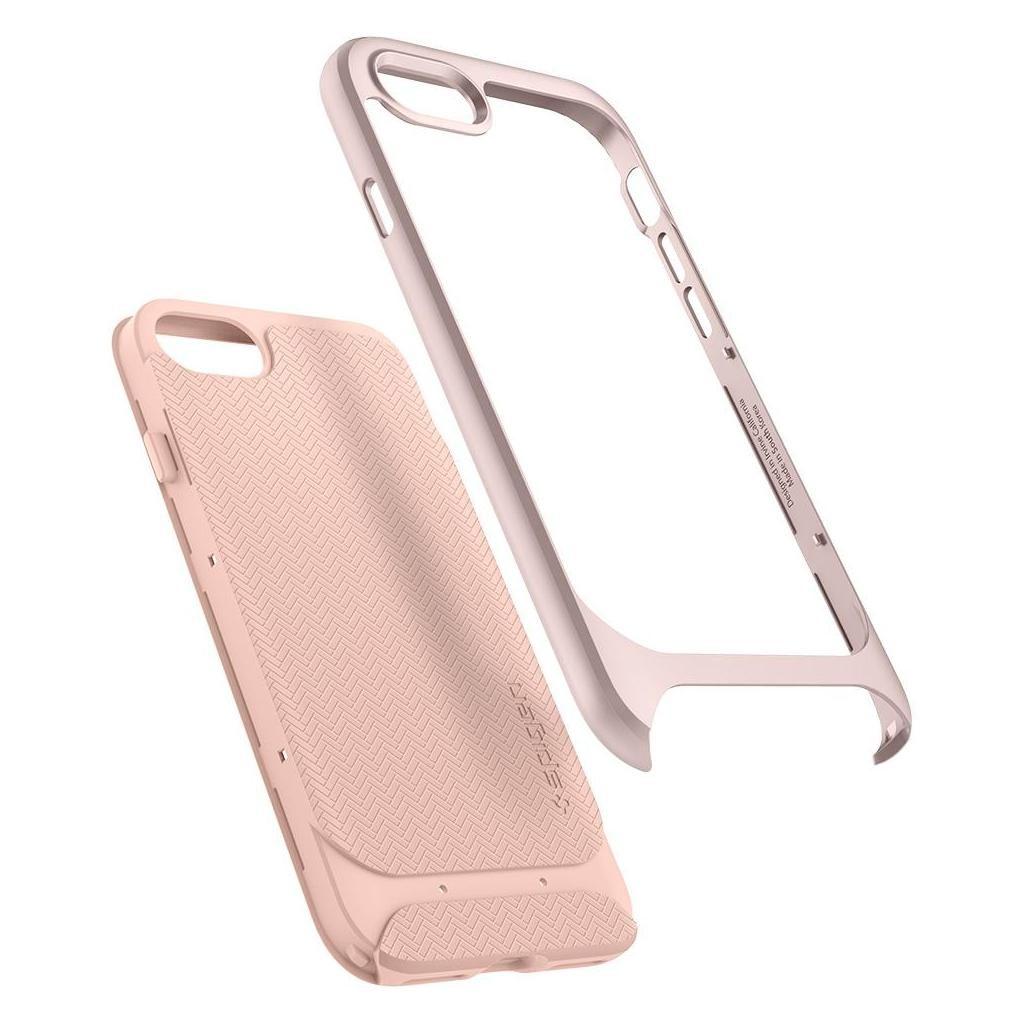 Spigen® Neo Hybrid™ Herringbone™ 054CS22202 iPhone SE (2020) / 8 / 7 Case - Pale Dogwood
