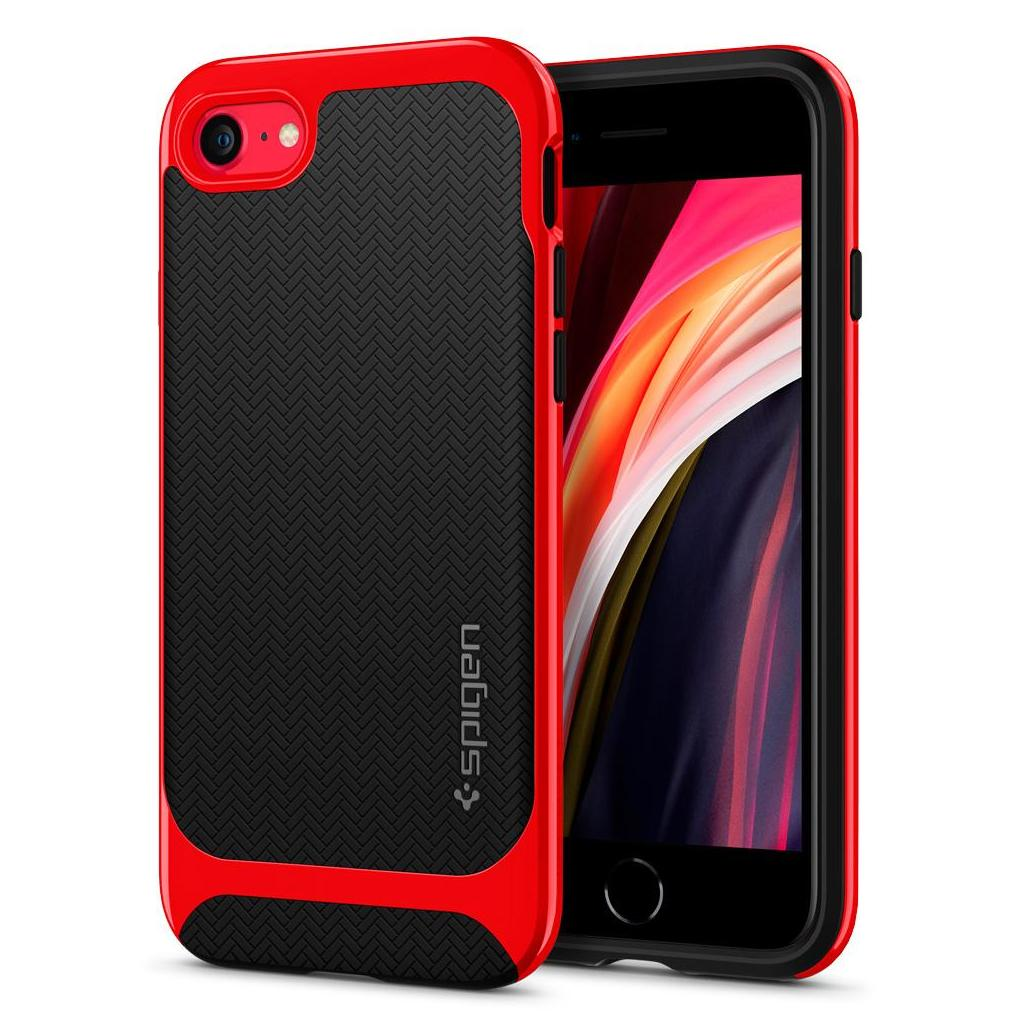 Spigen® Neo Hybrid™ Herringbone™ ACS00953 iPhone SE (2020) / 8 / 7 Case - Dante Red