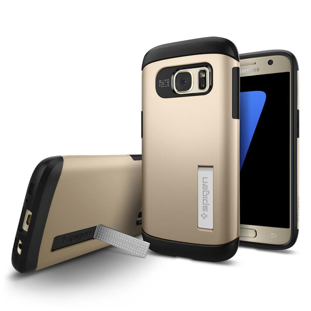 Spigen® Slim Armor™ 555CS20014 Galaxy S7 Case - Champagne Gold