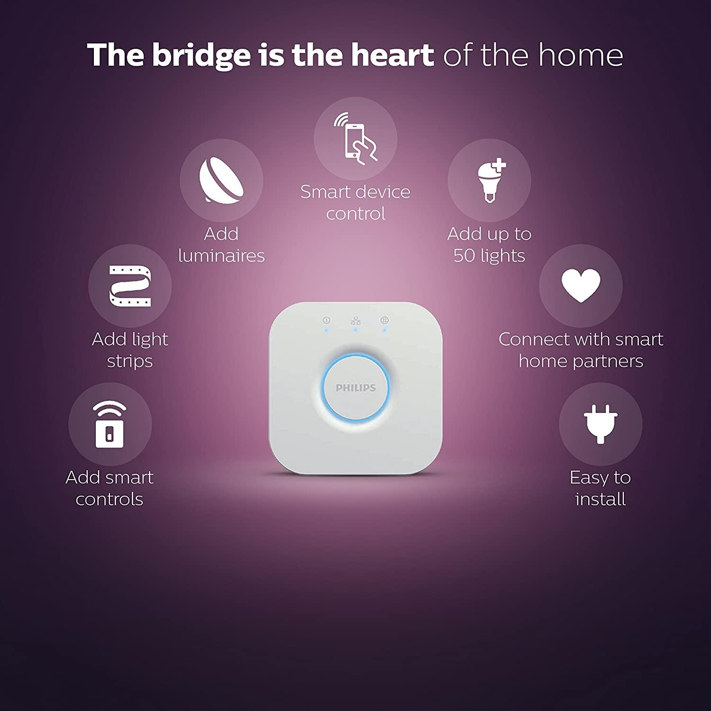 Philips Hue Bridge 2.0 Smart Hub - White