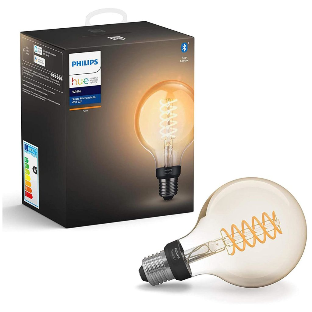 Philips Hue Filament E27 Bluetooth Smart Bulb - Flame