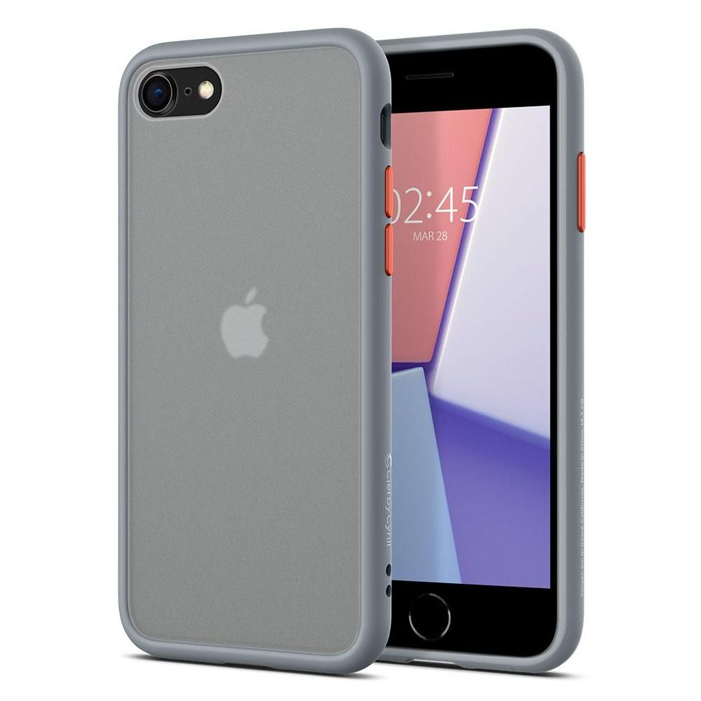 Spigen® Ciel by Cyrill Color Brick Collection ACS00965 iPhone SE (2020) / 8 / 7 Case - Gray
