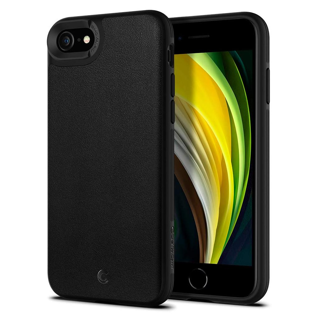 Spigen® Ciel by Cyrill Leather Brick Collection ACS00962 iPhone SE (2020) / 8 / 7 Case - Black