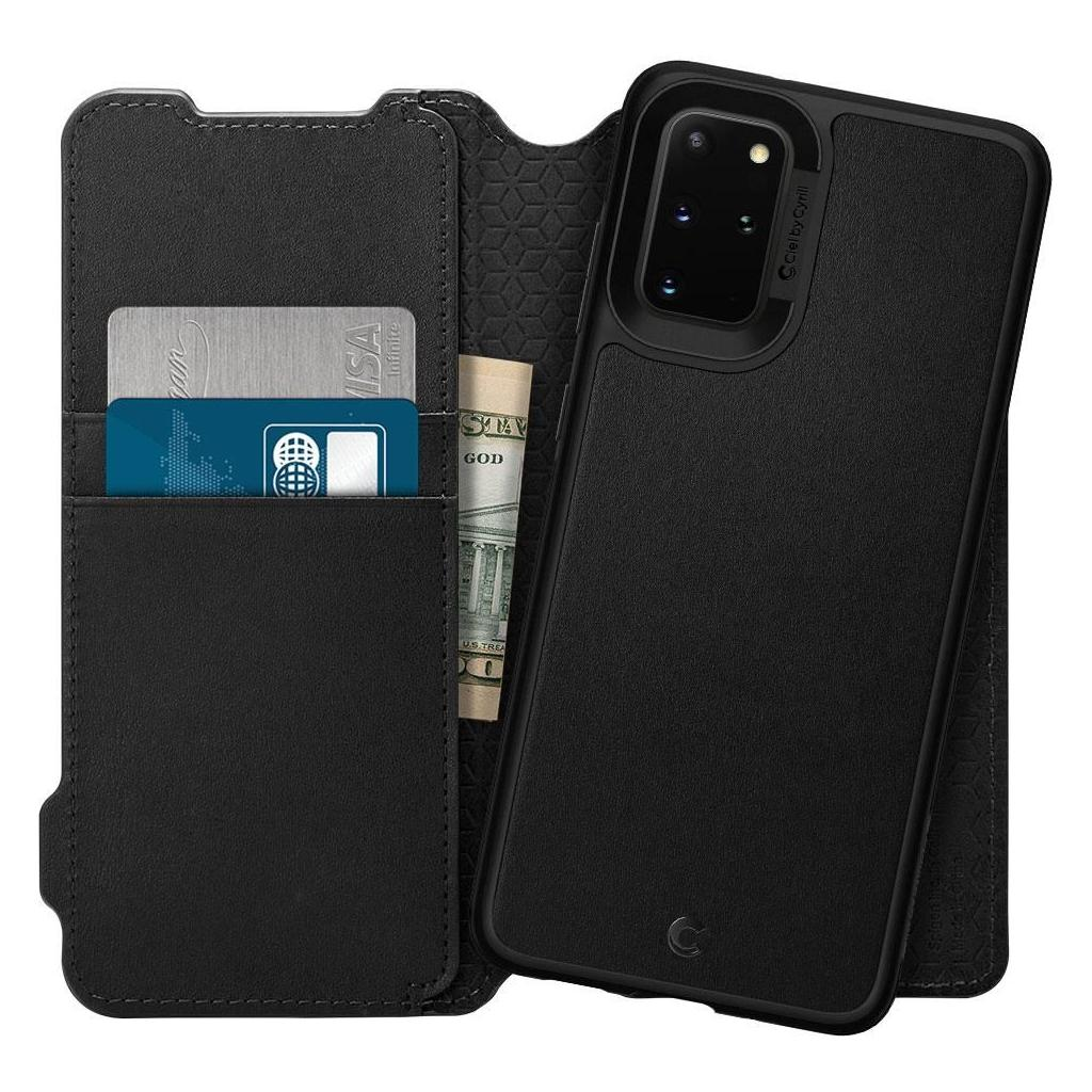Spigen® Ciel by Cyrill Wallet Brick Collection ACS00773 Samsung Galaxy S20+ Plus Case - Black
