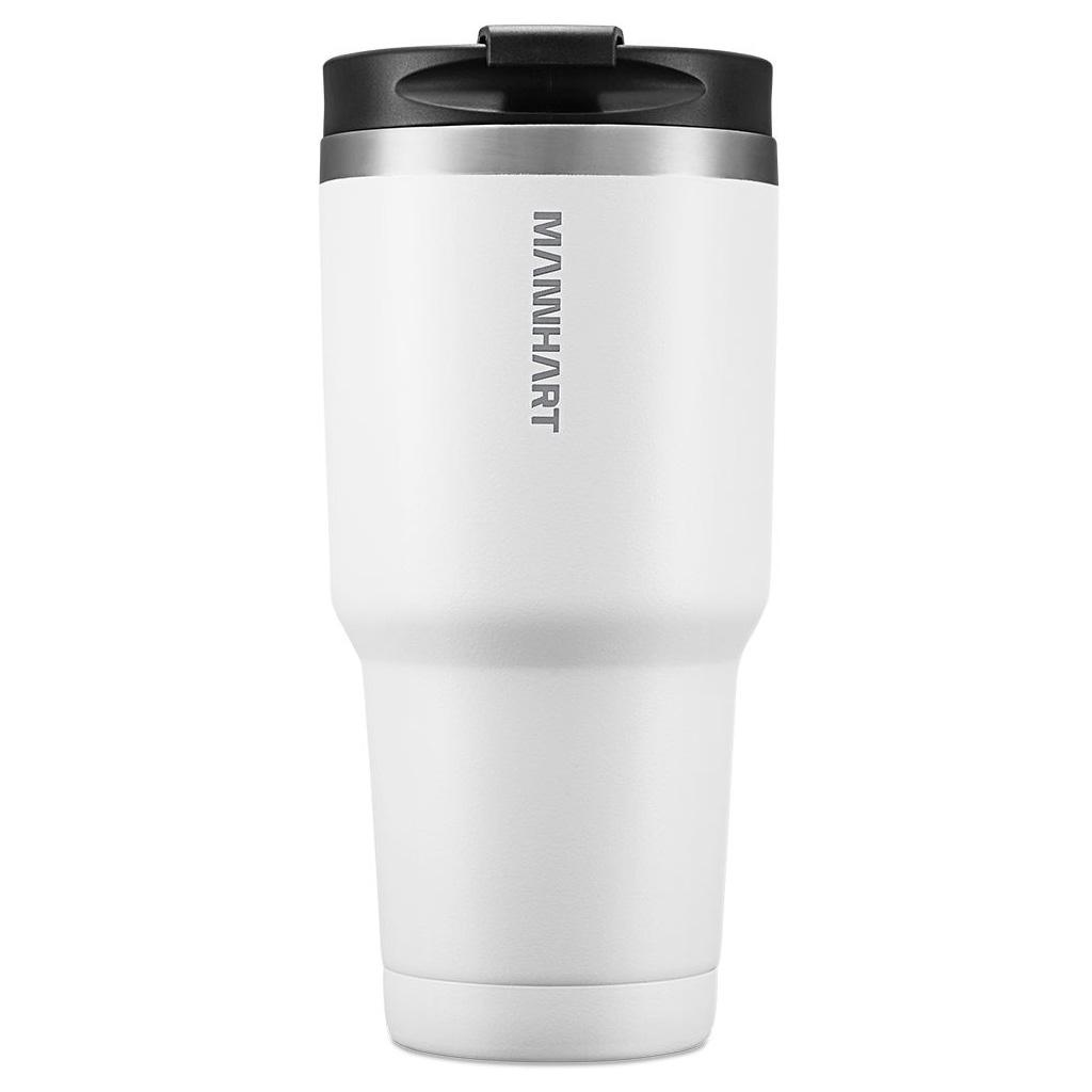 Spigen® Mannhart B201 Kubek 000HP26028 887ml Stainless Steel Travel Mug - White