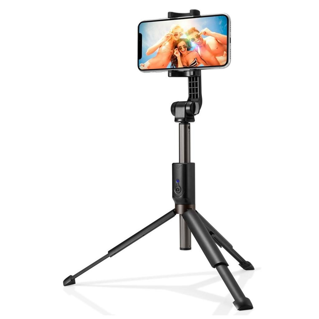 Spigen® S540W 000SS24111 Wireless Selfie Stick Tripod - Black