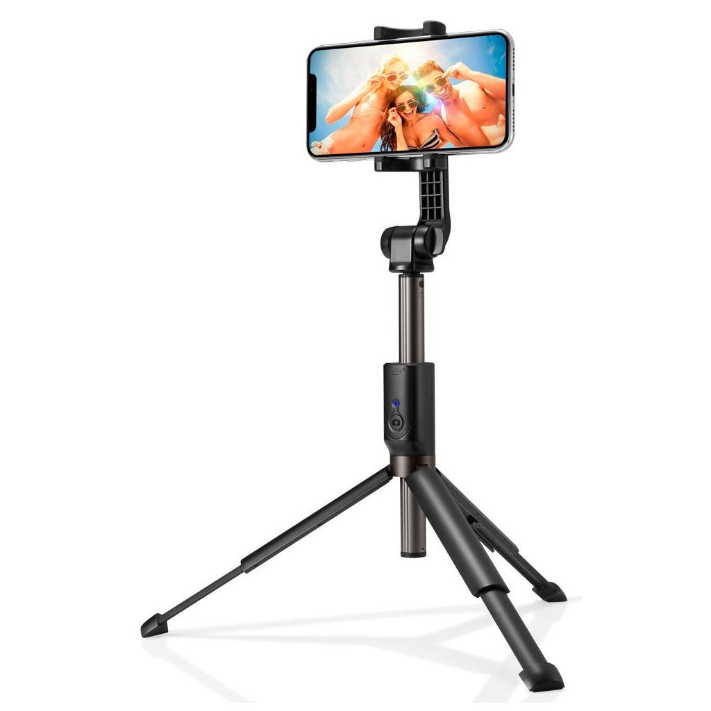 Spigen® S540W 000SS24111 Wireless Selfie Stick Tripod - Black