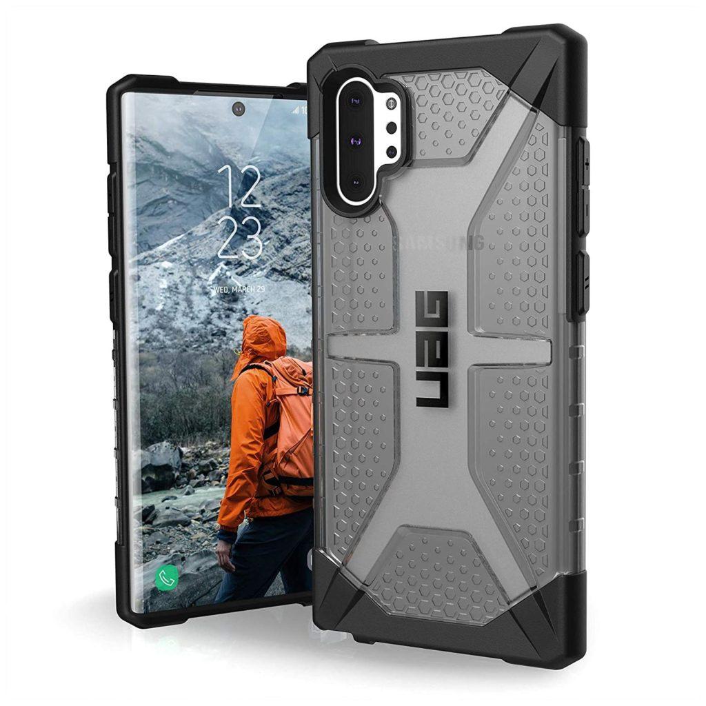 Urban Armor Gear (UAG) Plasma 211753113131 Samsung Galaxy Note 10+ Plus Case – Ash