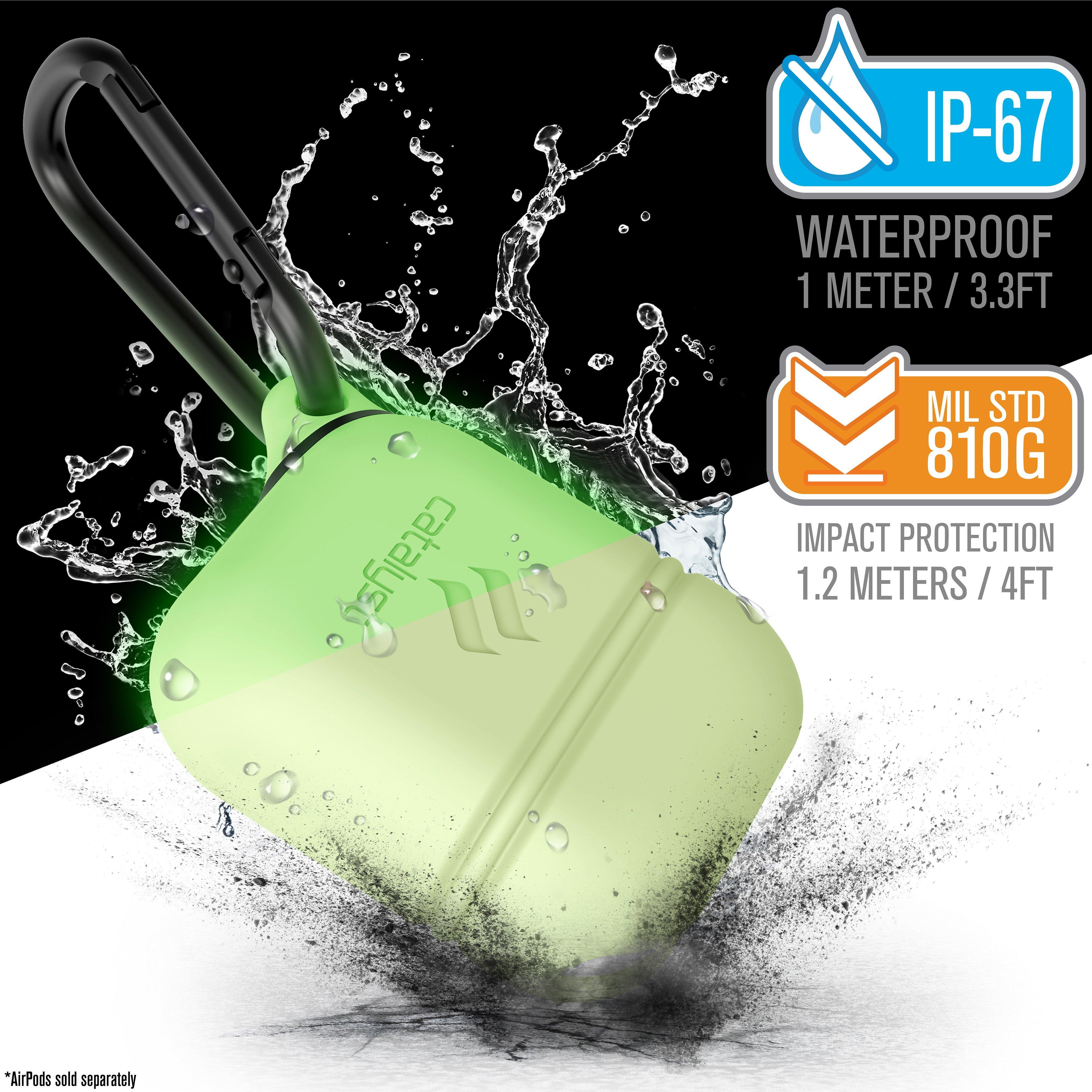 Catalyst Waterproof Apple AirPods Case - Glow in the Dark
