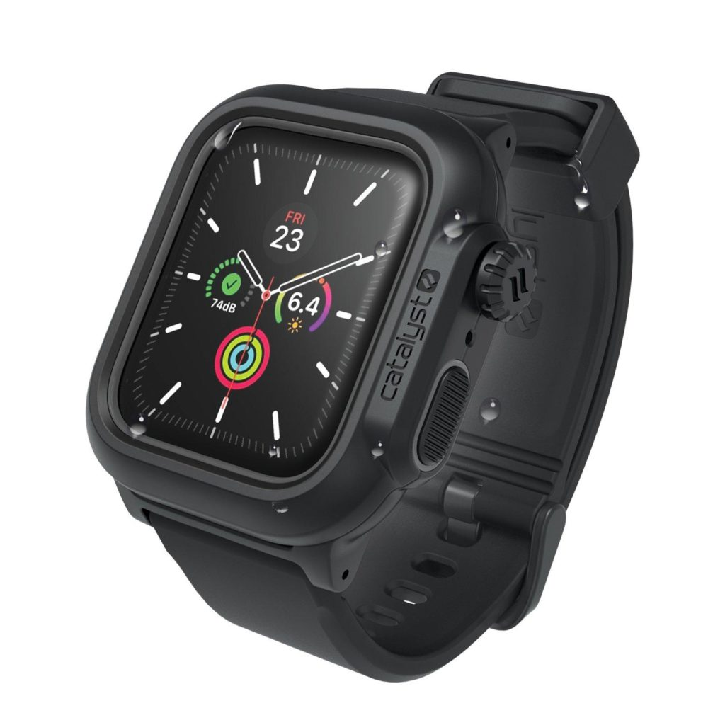 Catalyst Waterproof Apple Watch Series 5 / 4 (44mm) Case - Stealth Black