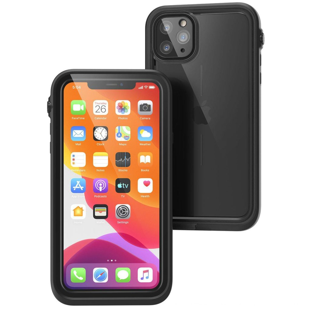 Catalyst Waterproof iPhone 11 Pro Max Case – Stealth Black