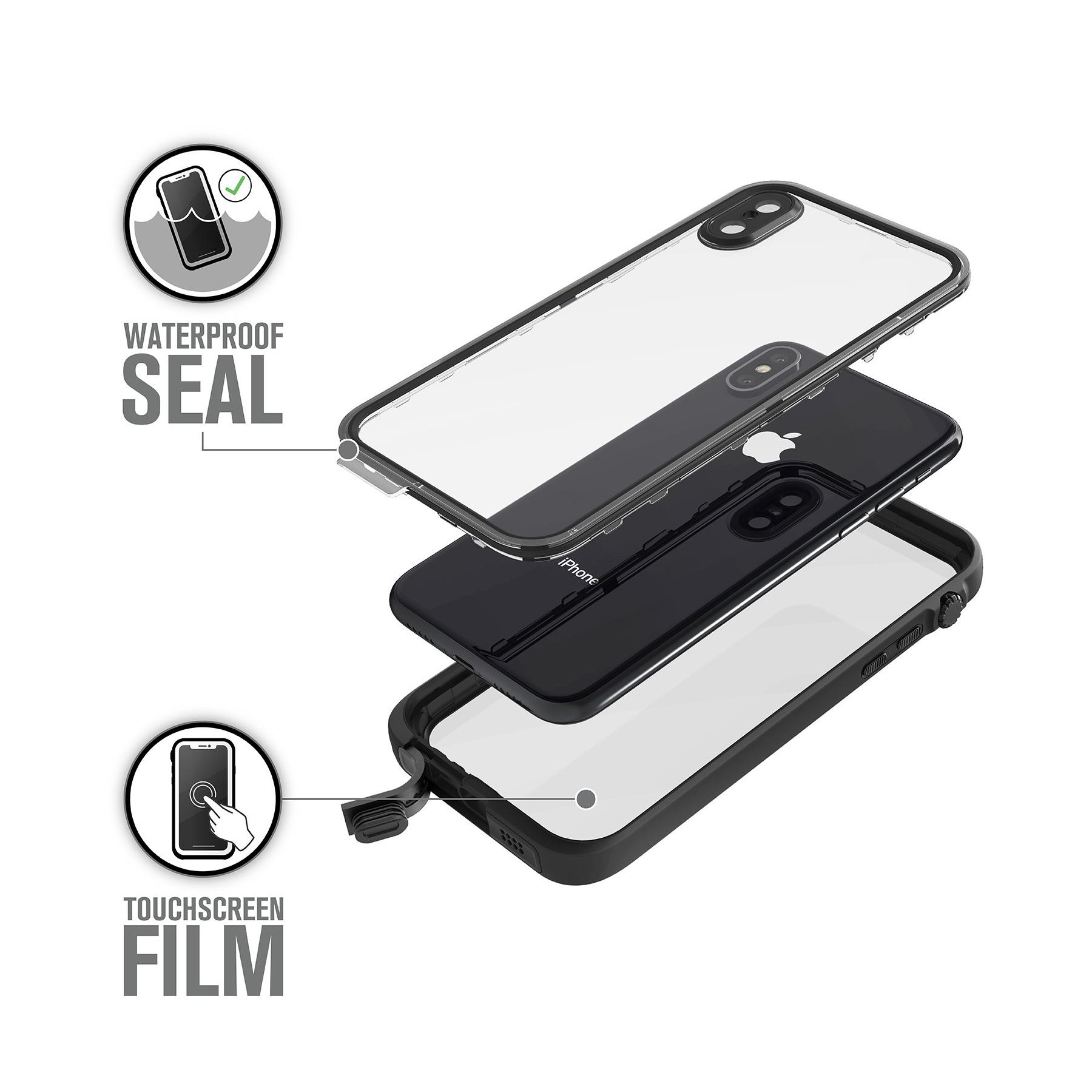 Catalyst Waterproof iPhone X Case - Stealth Black