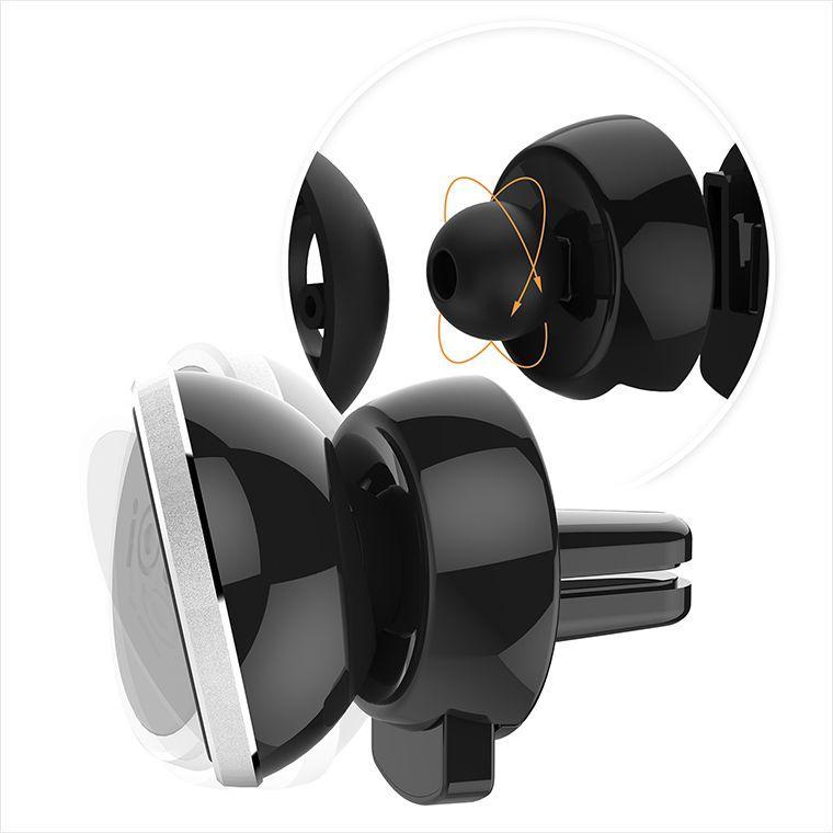 iOttie iTap Magnetic HLCRIO151RT Air Vent Mount - Black