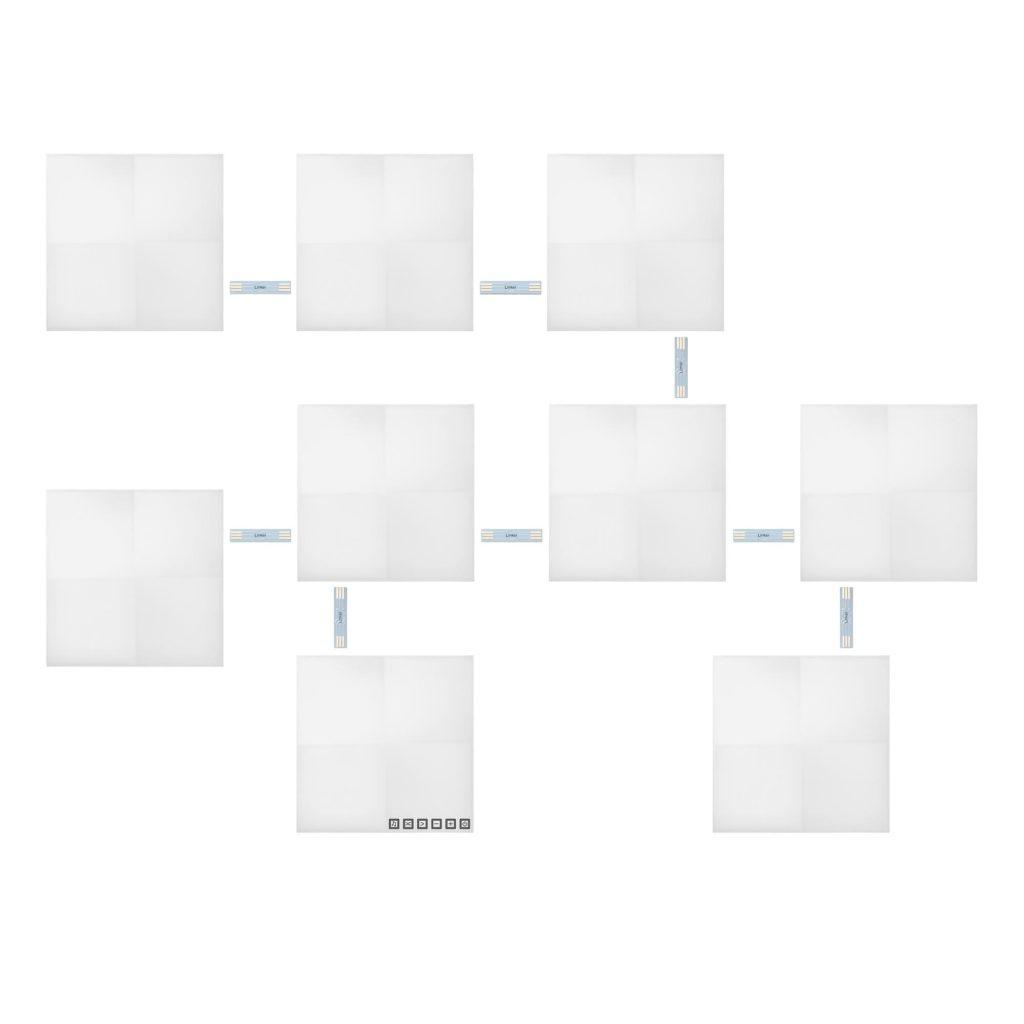Nanoleaf Canvas Smarter Kit - 9 Pack