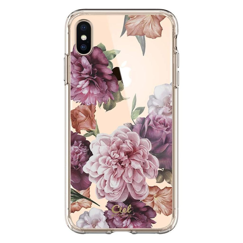Spigen® Ciel by Cyrill Cecile Collection 065CS25258 iPhone XS Max Case - Rose Floral