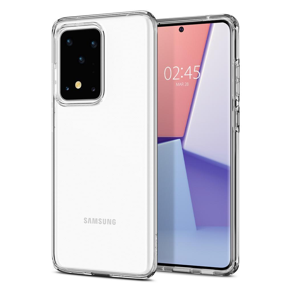 Spigen® Crystal Flex™ ACS00745 Samsung Galaxy S20 Ultra Case - Crystal Clear