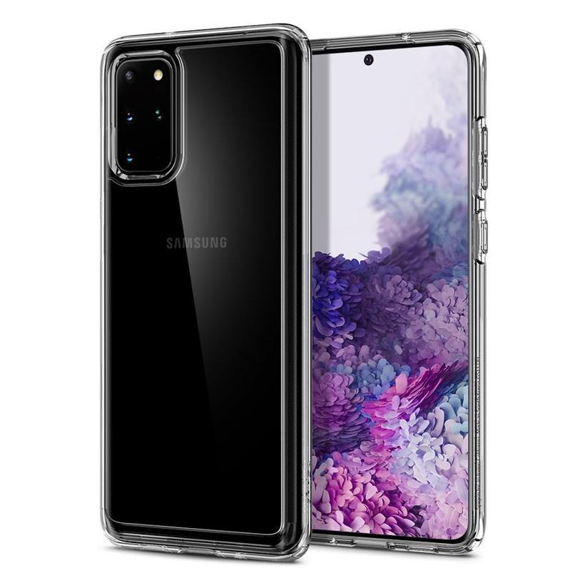 Spigen® Crystal Hybrid™ ACS00787 Samsung Galaxy S20+ Plus Case - Crystal Clear