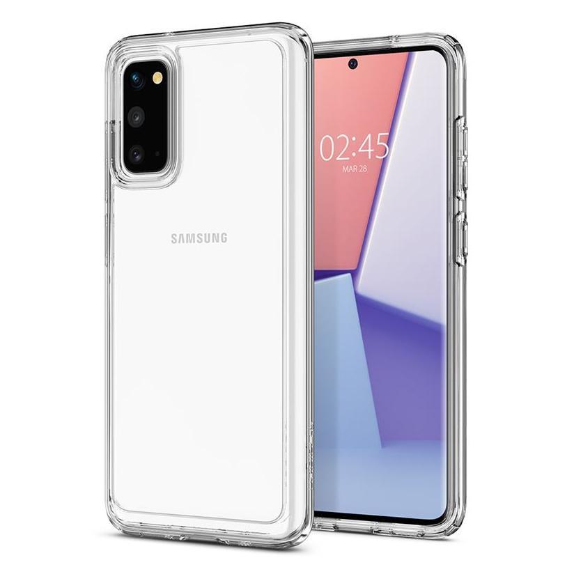 Spigen® Crystal Hybrid™ ACS00816 Samsung Galaxy S20 Case - Crystal Clear