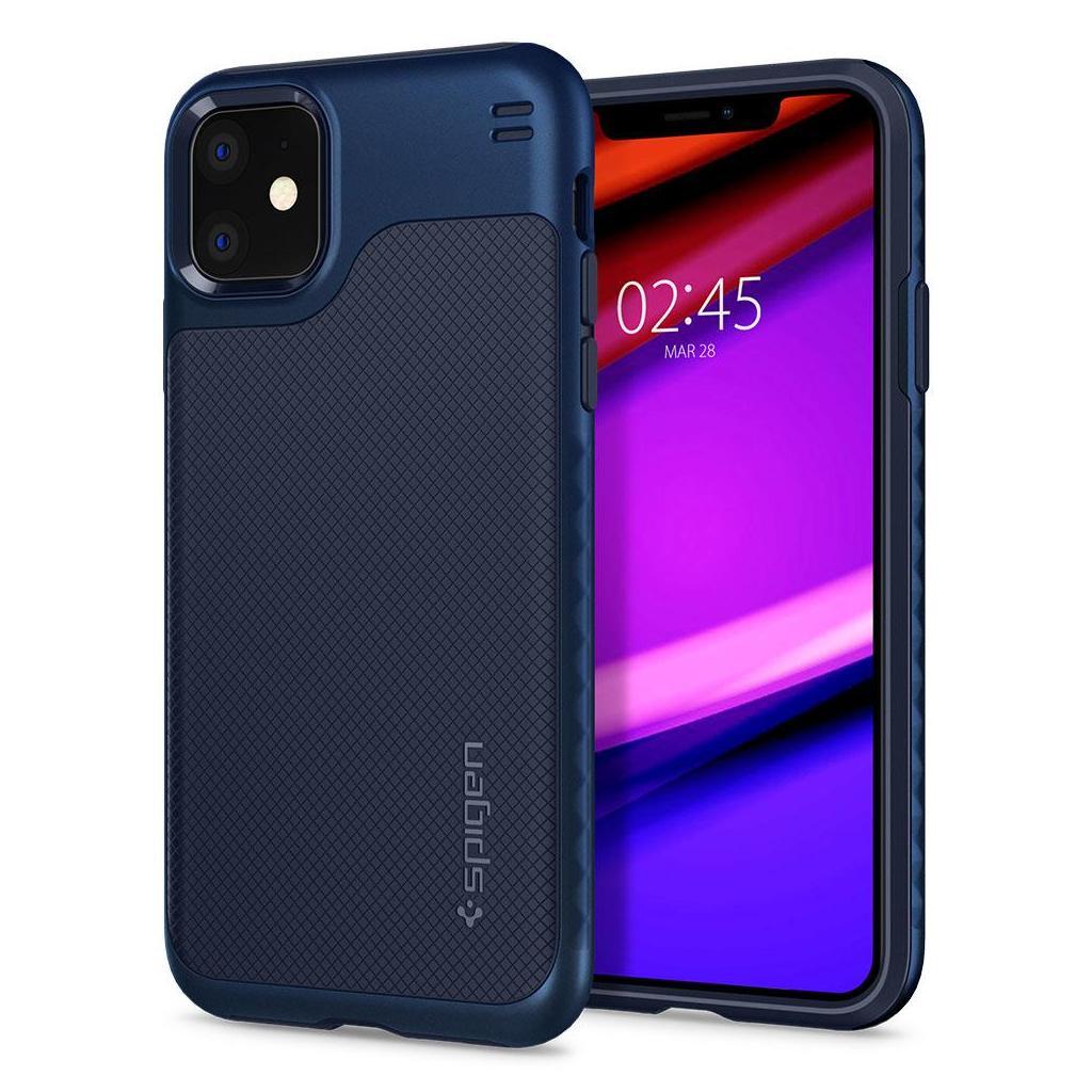 Spigen® Hybrid NX™ 076CS27075 iPhone 11 Case - Navy