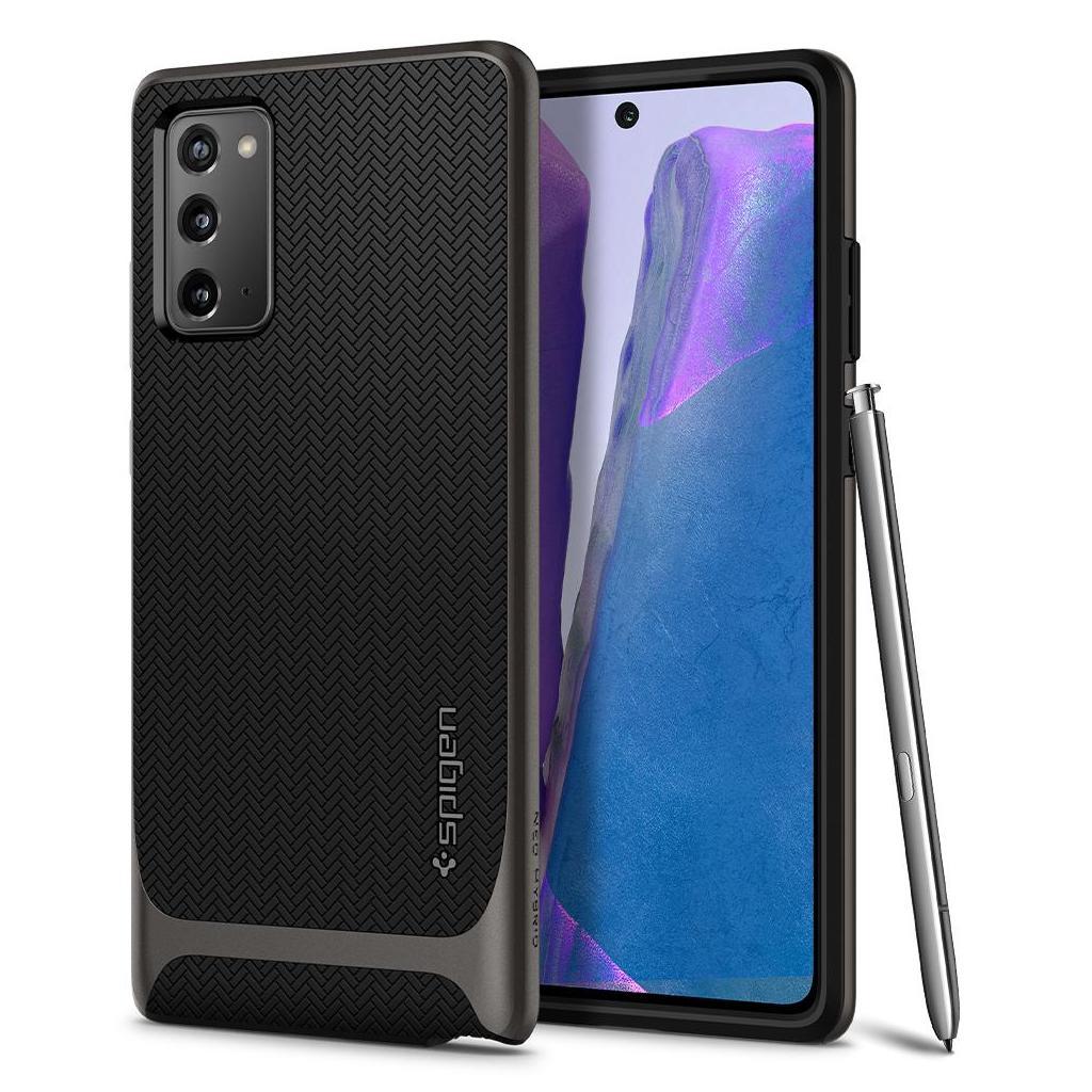 Spigen® Neo Hybrid™ ACS01425 Samsung Galaxy Note 20 Case - Gunmetal