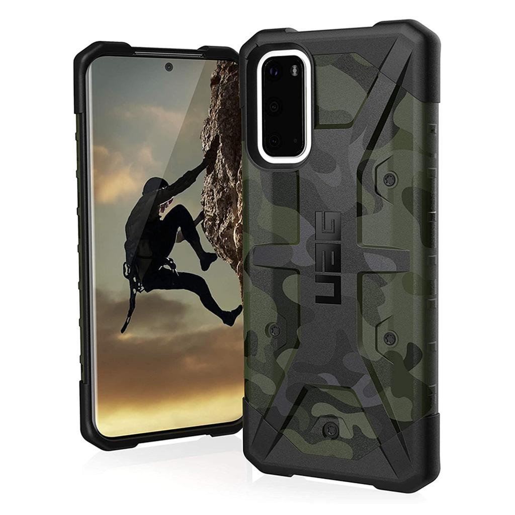 Urban Armor Gear (UAG) Pathfinder SE Special Edition 211977117271 Samsung Galaxy S20 Case - Forrest Camo