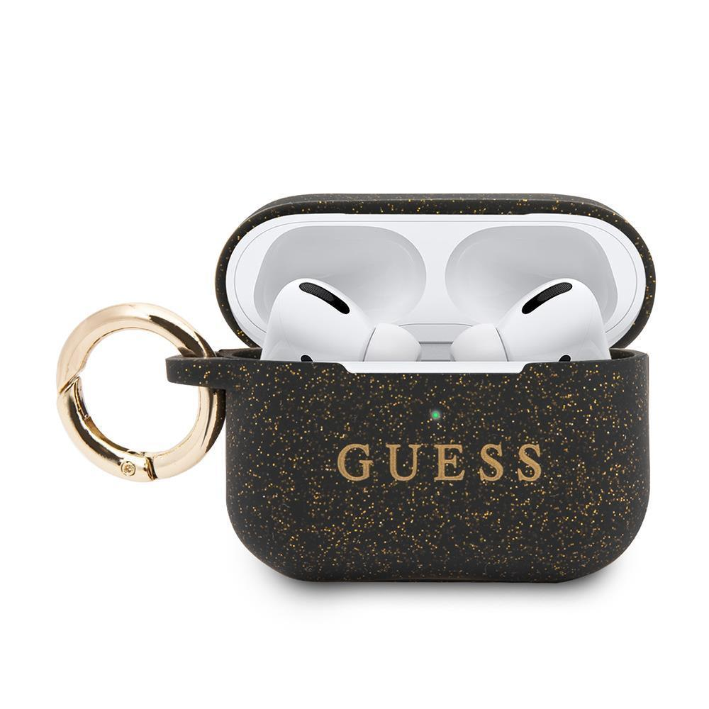 Guess® Silicone Collection Apple AirPods Pro Case - Black
