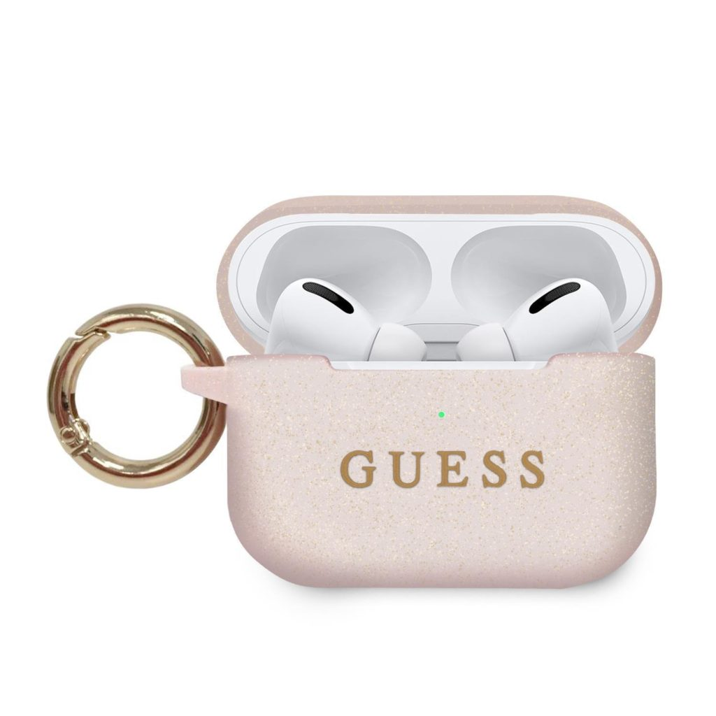 Guess® Silicone Collection Apple AirPods Pro Case - Pink