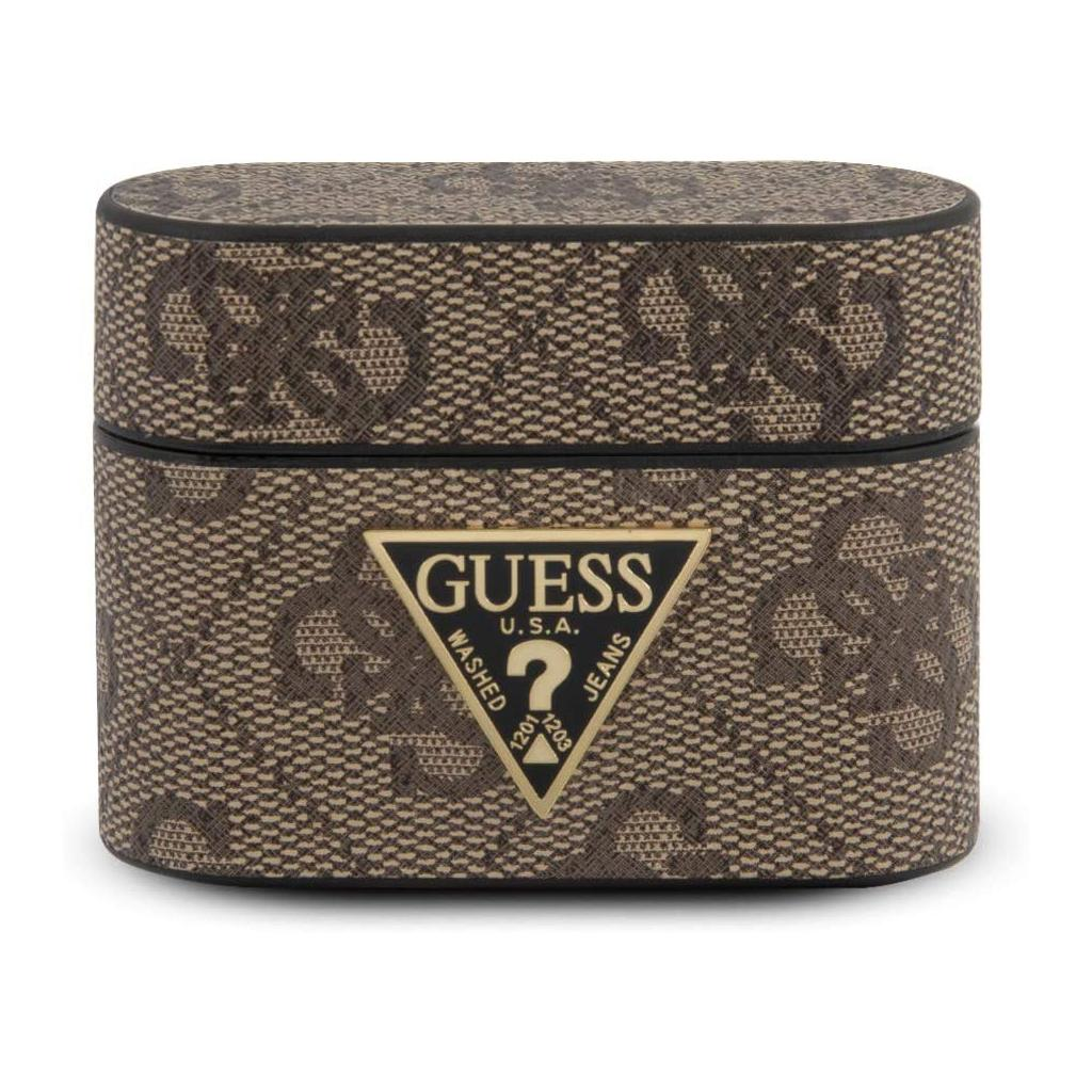 Guess® Stripe Collection Apple AirPods Pro Case – Brown
