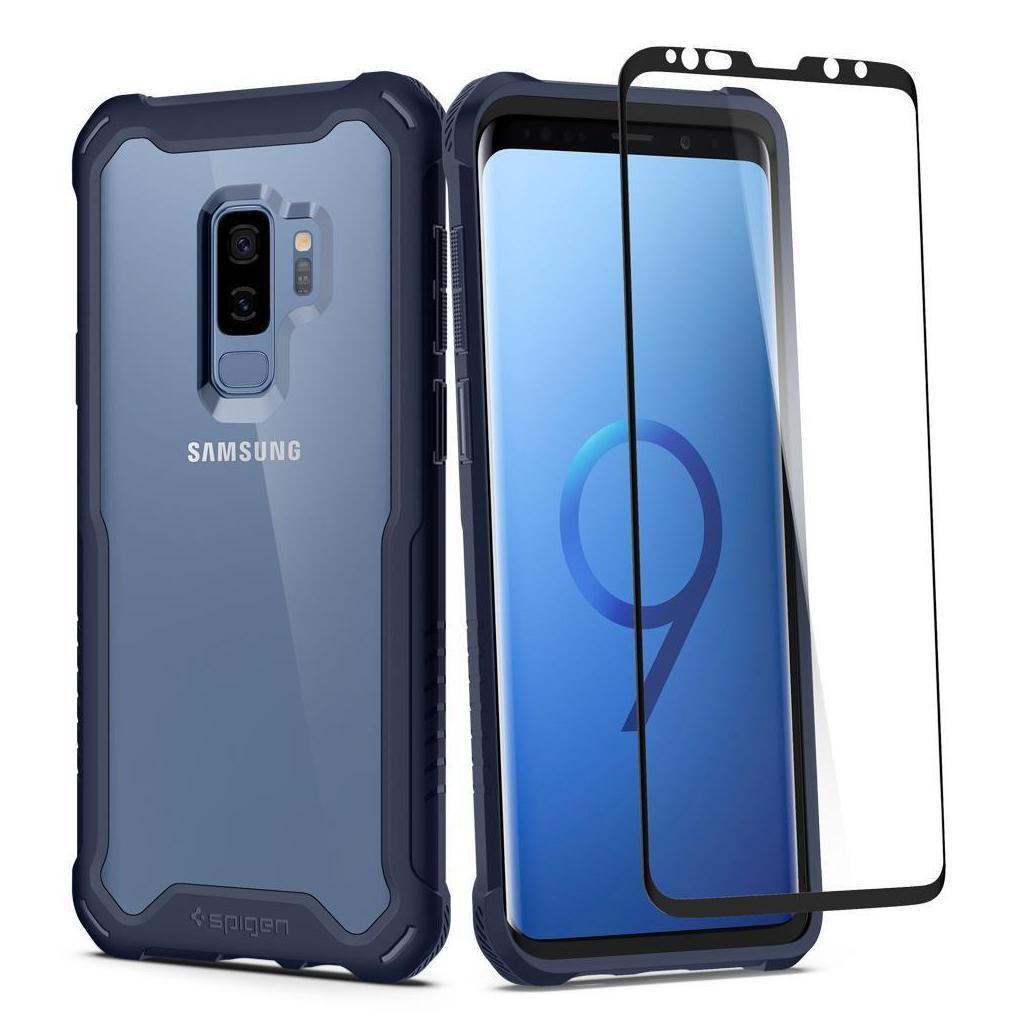 Spigen® Hybrid 360™ 593CS23044 Samsung Galaxy S9+ Plus Case - Deepsea Blue