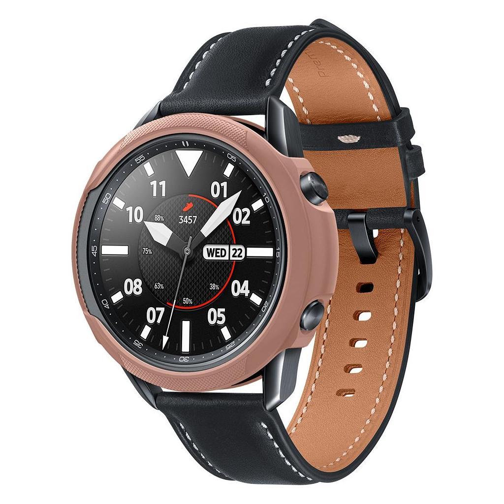 Spigen® Liquid Air™ ACS01927 Samsung Galaxy Watch 3 (45mm) Case - Bronze