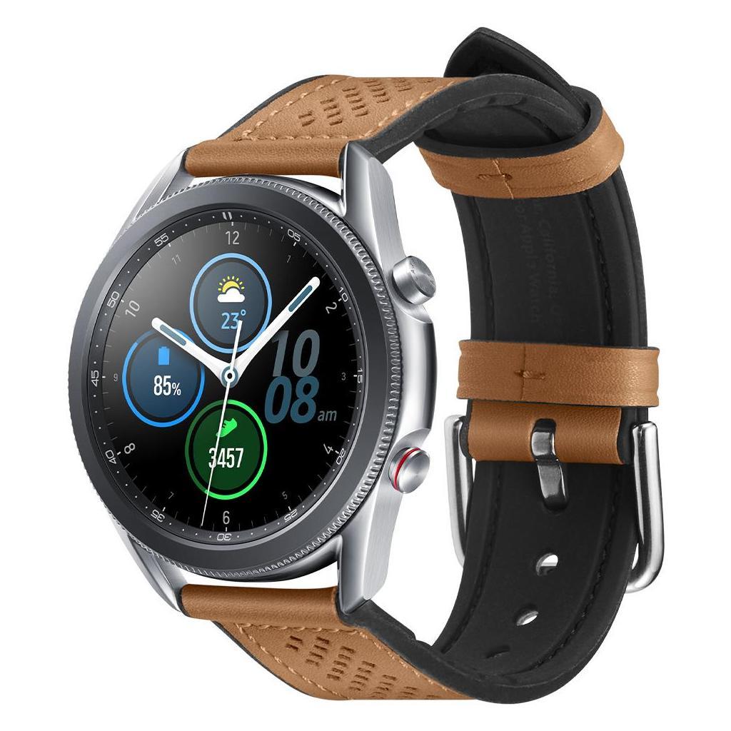 Spigen® Retro Fit 603MP26446 Samsung Galaxy Watch 3 (45mm) / Galaxy Watch (46mm) Band – Brown