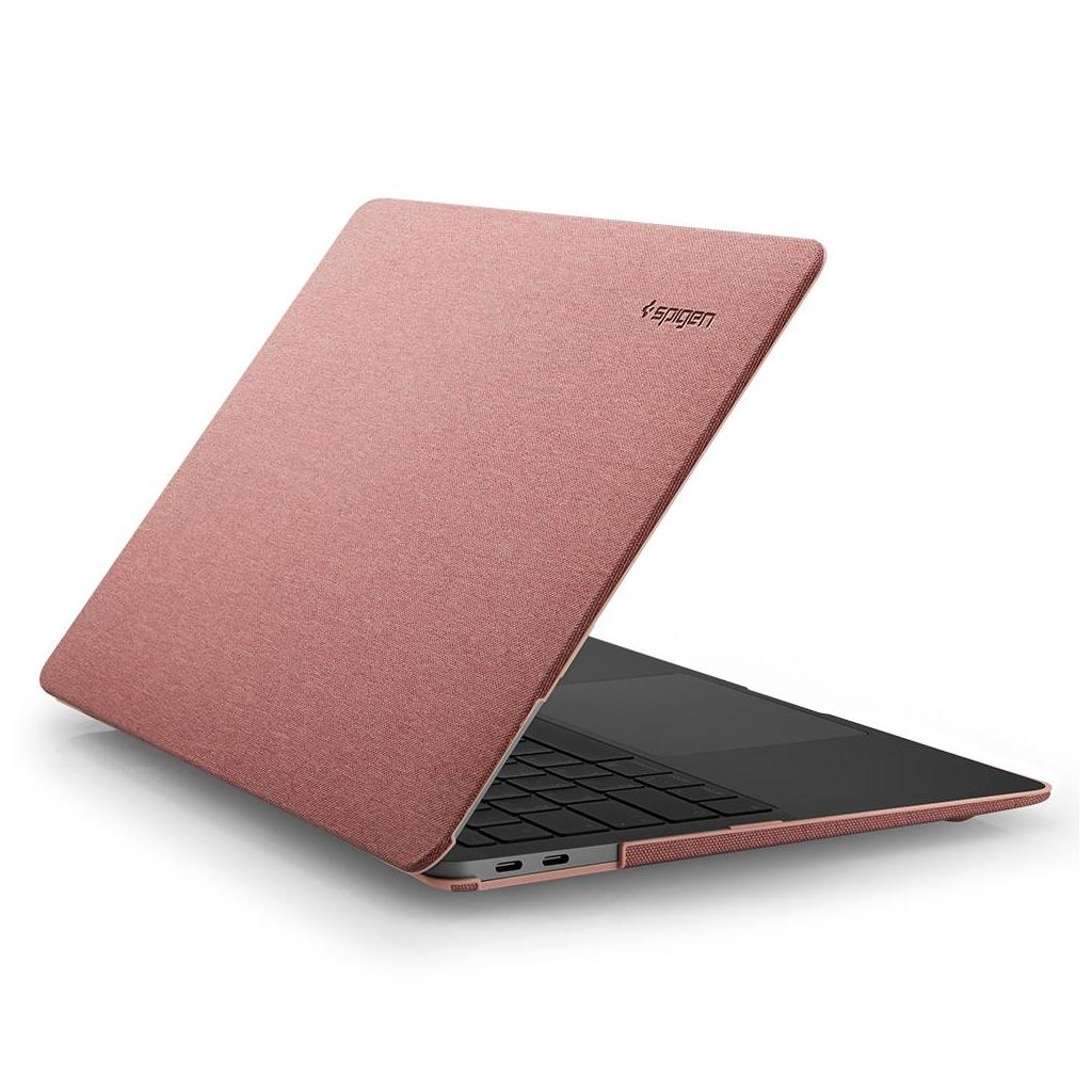Spigen® Thin Fit™ 071CS25964 MacBook Air 13-inch (2020/2018) Case - Rose Gold