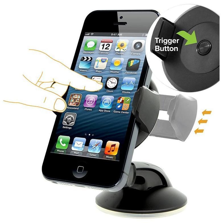 iOttie Easy Flex 3 HLCRIO108 Car Mount Holder Desk Stand - Black