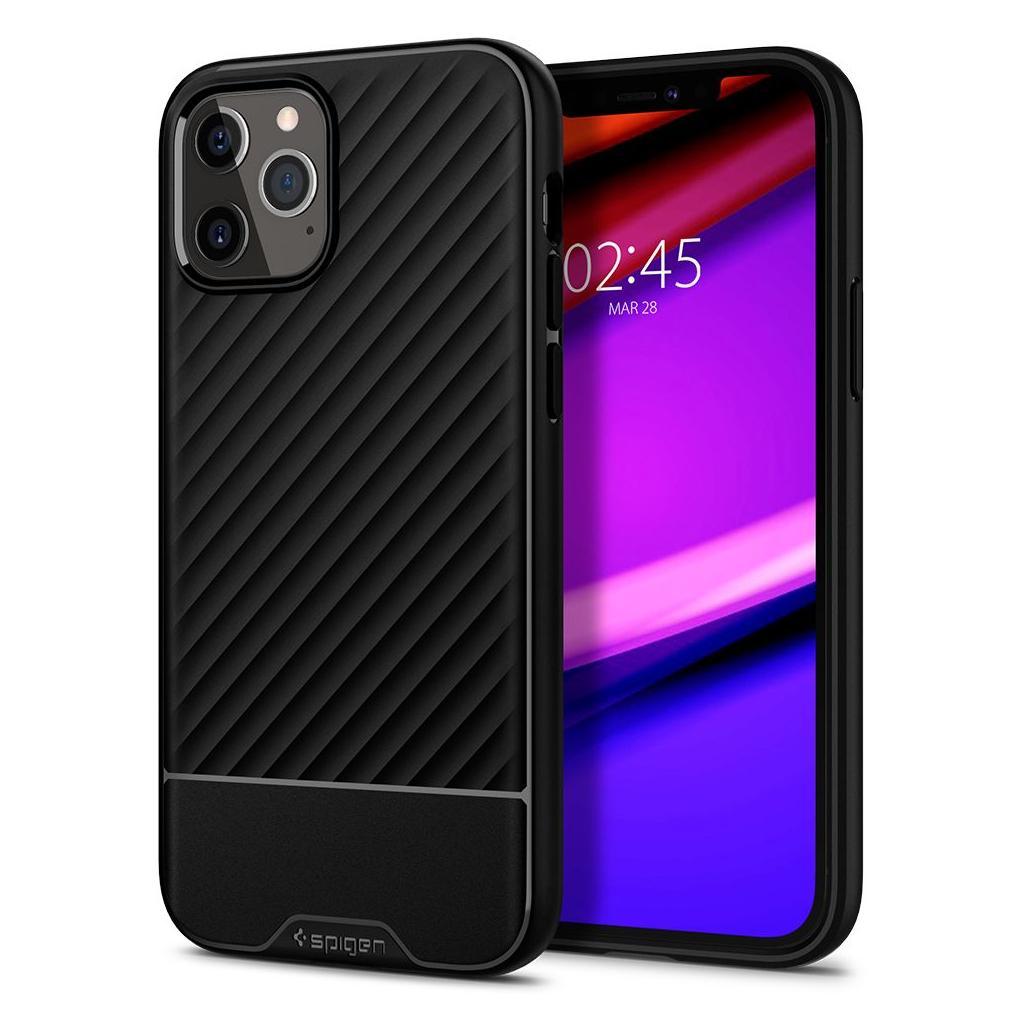 Spigen® Core Armor™ ACS01471 iPhone 12 Pro Max Case - Black