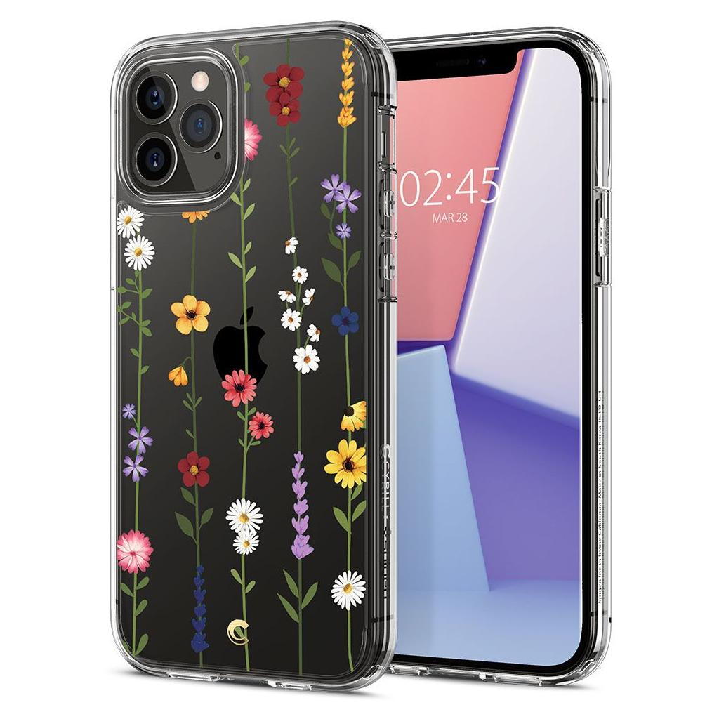 Spigen® Cyrill Cecile Collection ACS01728 iPhone 12 / 12 Pro Case - Flower Garden